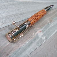 Red Palm Bolt Action Pen