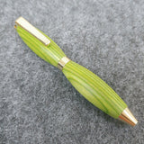 Lime Green Spectraply Credit Card Pen