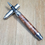 Black Walnut Crotchwood Rollerball Presimo Pen