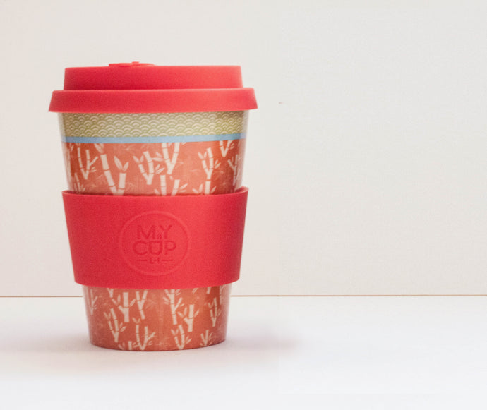 Bamboo Love - Reusable Bamboo Fiber Coffee Cup