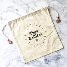 HAPPY BIRTHDAY GIFT BAG - left-handesign