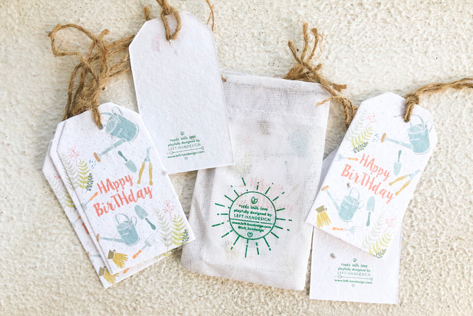 BĪJ GIFT TAGS - Green Fingers