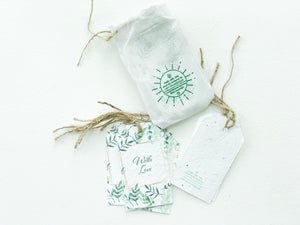 BĪJ GIFT TAGS - With Love
