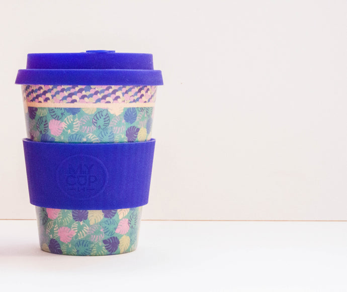 Tropicana - Reusable Bamboo Fiber Coffee Cup