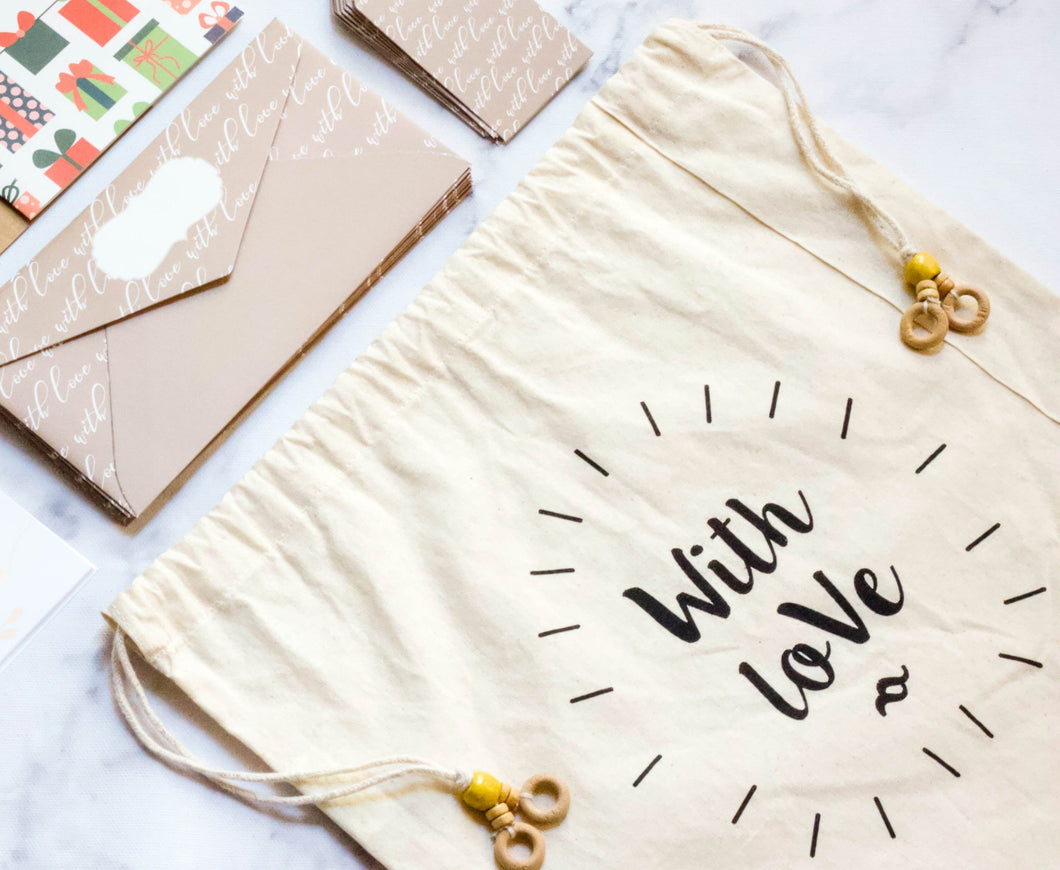 WITH LOVE GIFT BAG - left-handesign