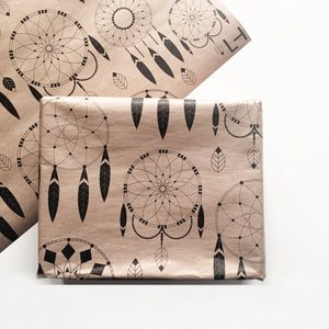 DREAMCATCHERS GIFT WRAP - left-handesign
