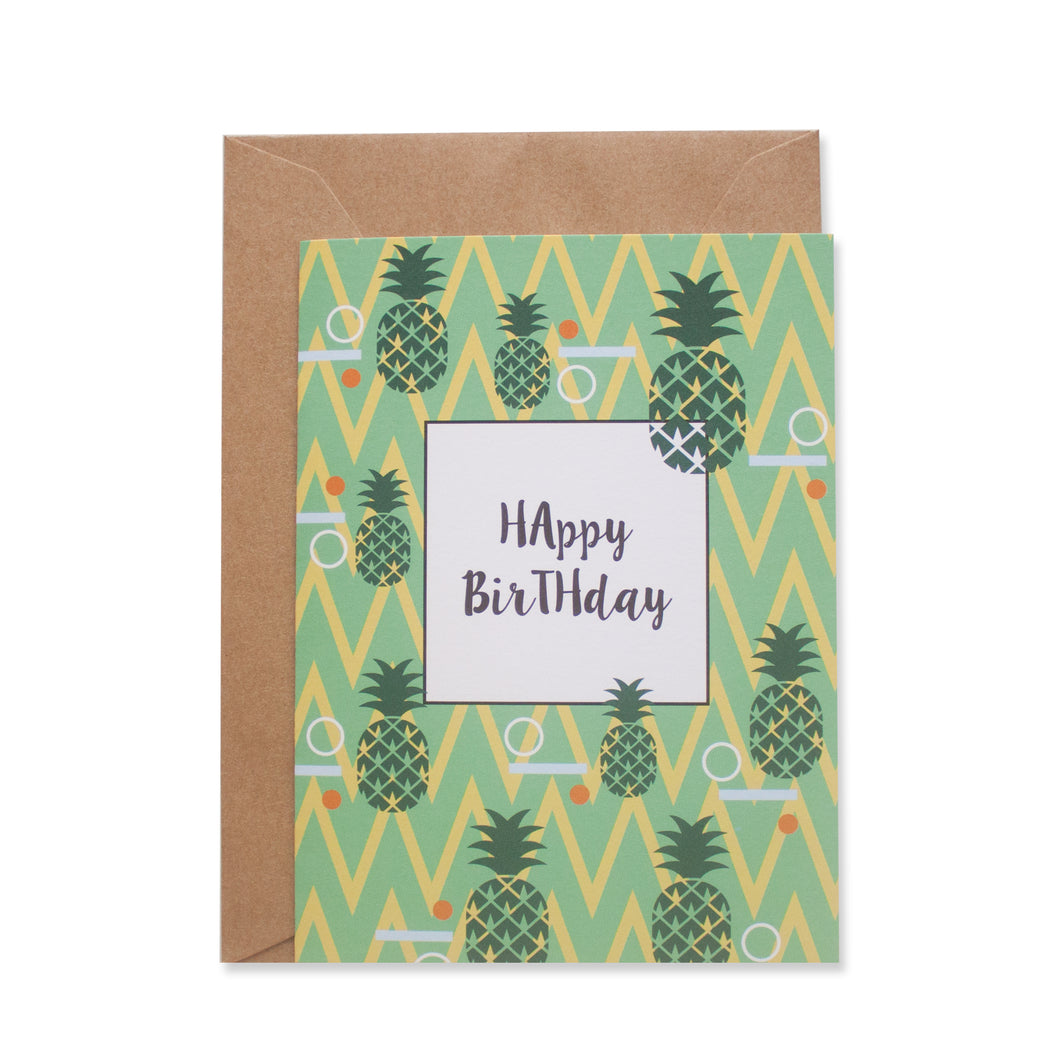 FRUTA GREETING CARD - left-handesign