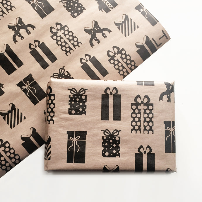 PRESENTS GIFT WRAP - left-handesign