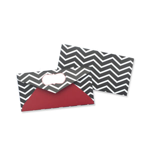 ZIG N ZAG ENVELOPE - left-handesign