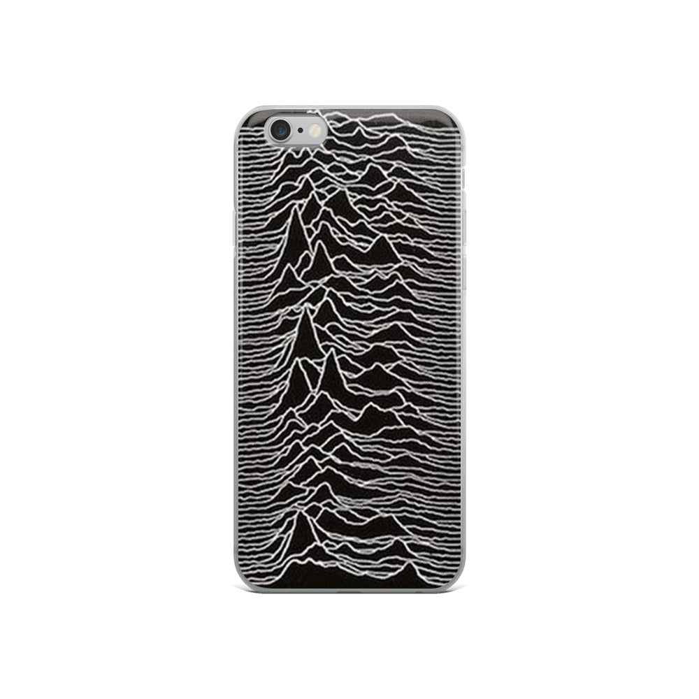 114e7905ca ... Joy Division Inspired - Unknown Pleasures - iPhone Case - Sellout Crowd  ...