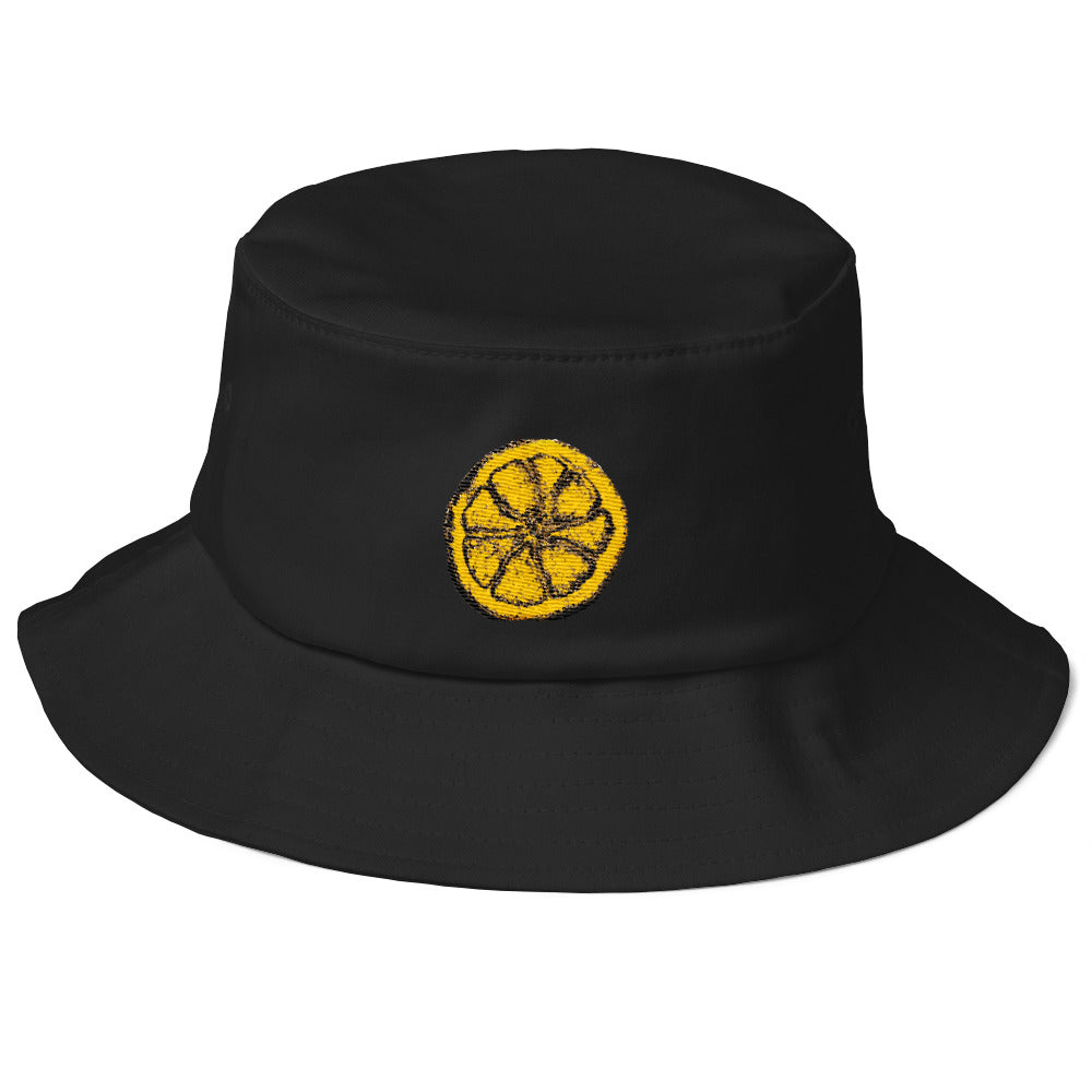 The Stone Roses Lemon Inspired Old School Bucket Hat - Sellout Crowd ... cc13d974a33