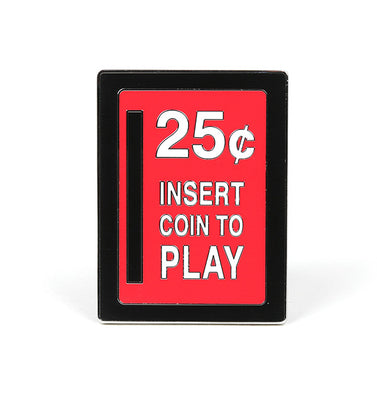 Insert Coin Collectible Enamel Pin
