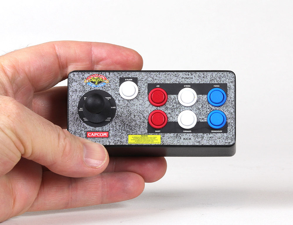 Street Fighter II Mini Fight Stick