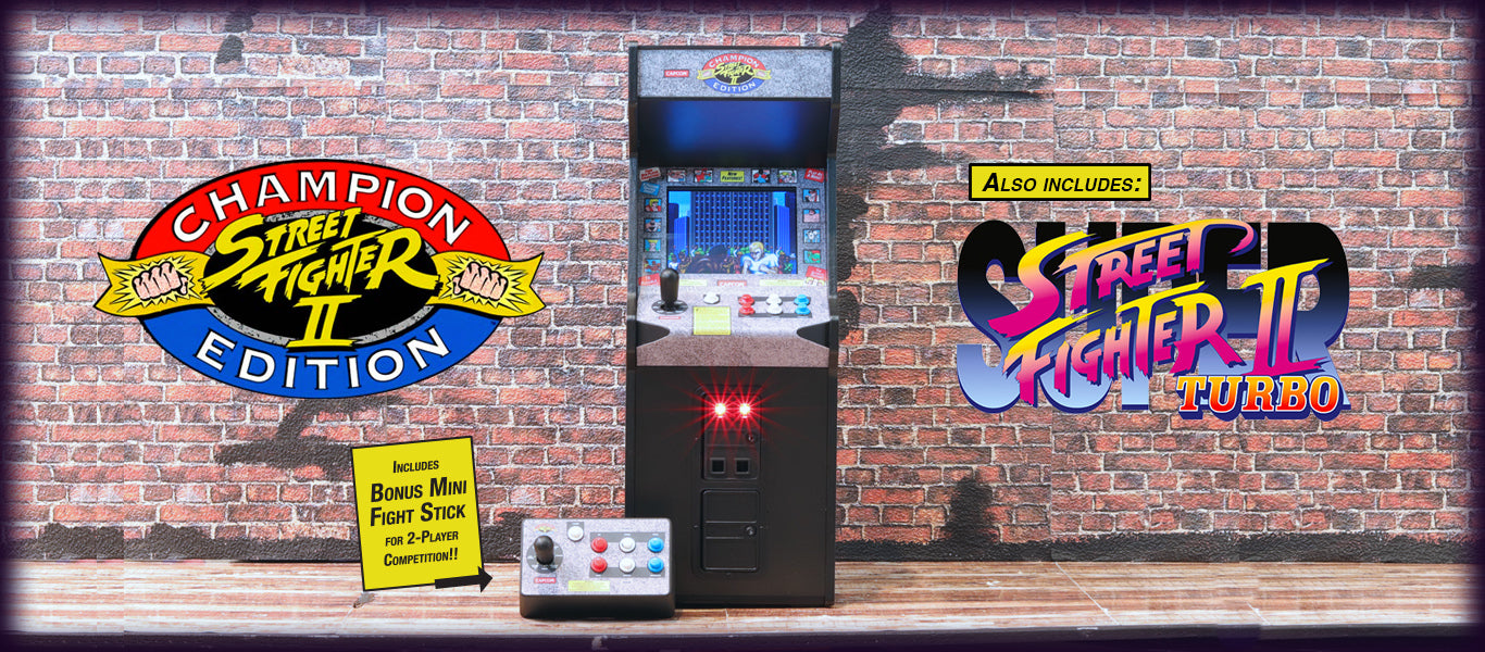 Street Fighter II: Champion Edition x RepliCade – New Wave Toys