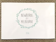 Newborns of Melbourne Book 2019