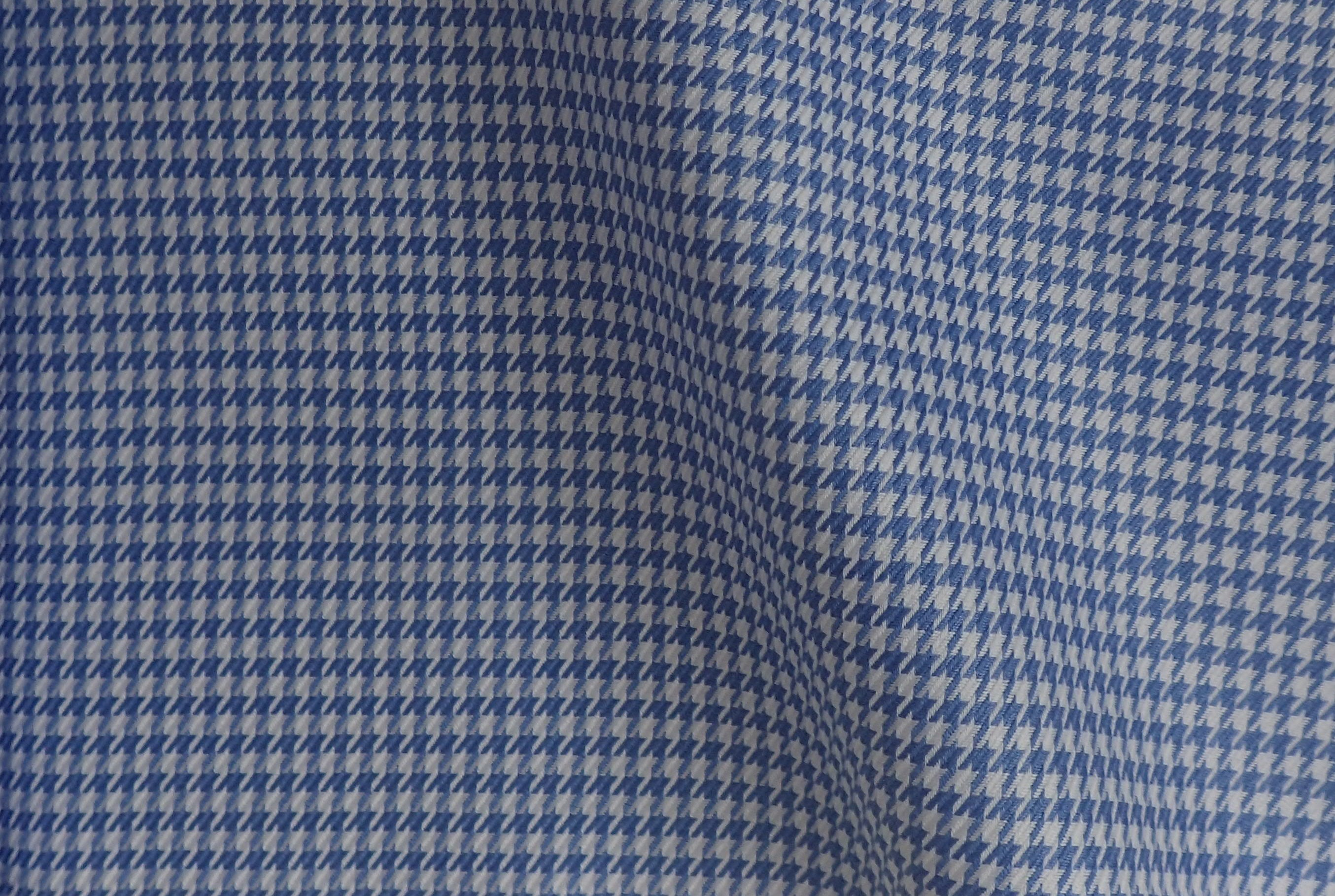 Blue Houndstooth