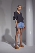 Allure Chambray Shorts