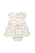 Gold Stripe Baby dress