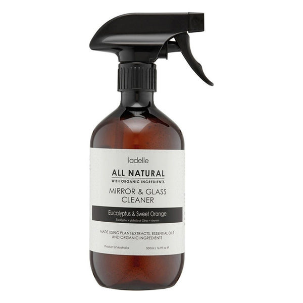 Mirror & Glass Cleaner - Eucalyptus & Sweet Orange (500ml)