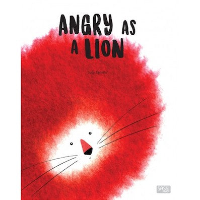 Angry as a lion - Hard Covered Book
