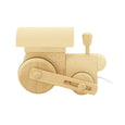 Wooden pull along train - Frederik