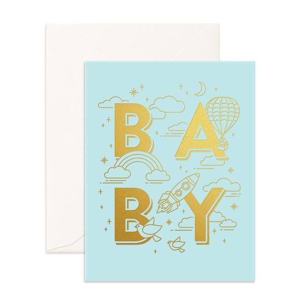 Baby Universe /Blue - Card