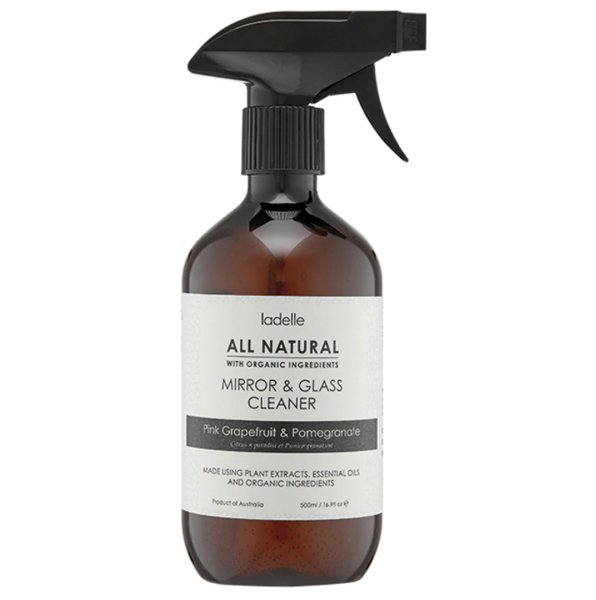 Mirror & Glass Cleaner - Pink grapefruit & pomegranate (500ml)
