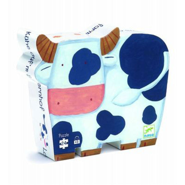 Djeco The Cows on the Farm24 piece puzzle