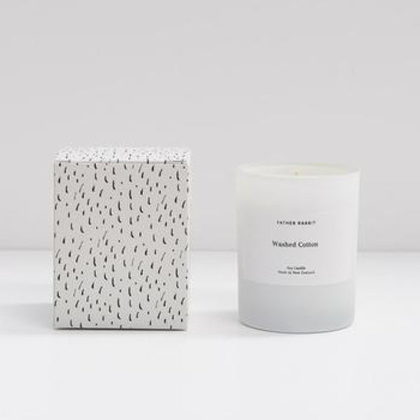 Father Rabbit Soy Candle - Washed Cotton