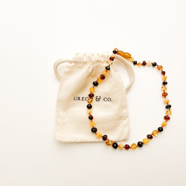 Baltic Amber childrens Necklace - Faith