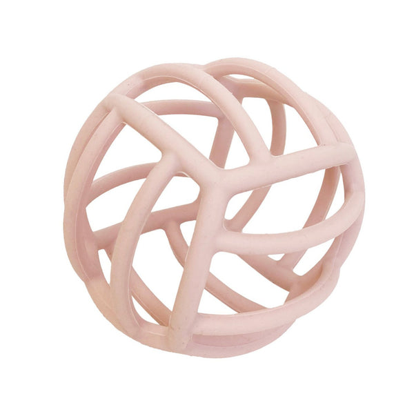 Petite Eats Silicone Teething Ball - Lilac