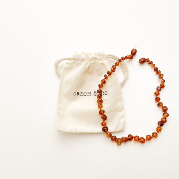 Baltic Amber childrens Necklace - Strength