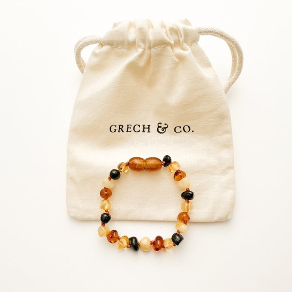 Baltic Amber childrens Bracelet / Anklet - Faith