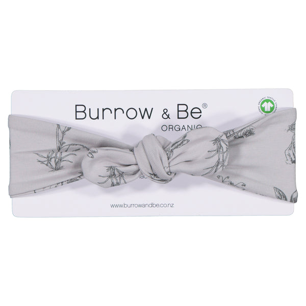Grey Burrowers Headband