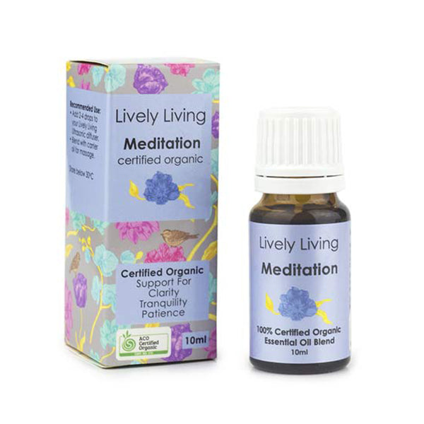 Lively Living Essential Oils - Meditation