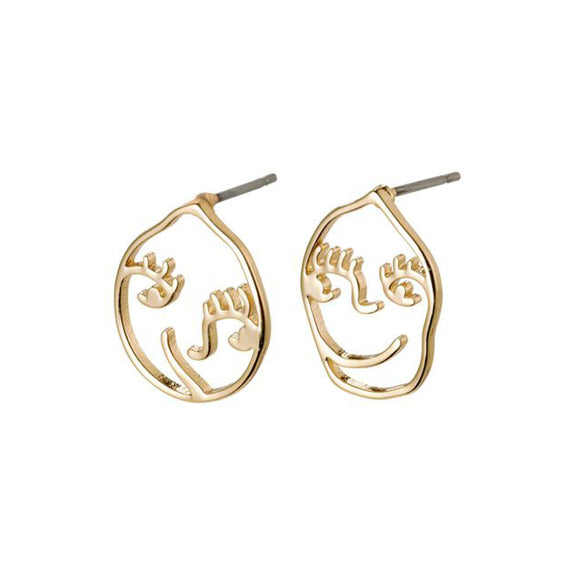 Debra Earrings / Gold Plated