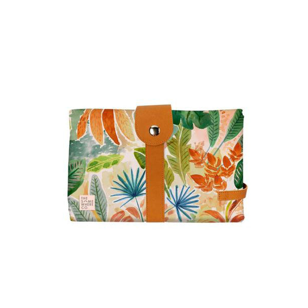 Travel Baby Change mat - Caribbean Jungle