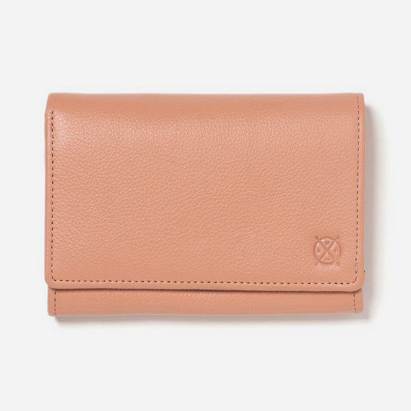Ellie Wallet - Coral