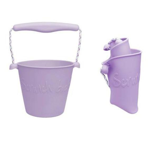 Scrunch Bucket - Dusty purple