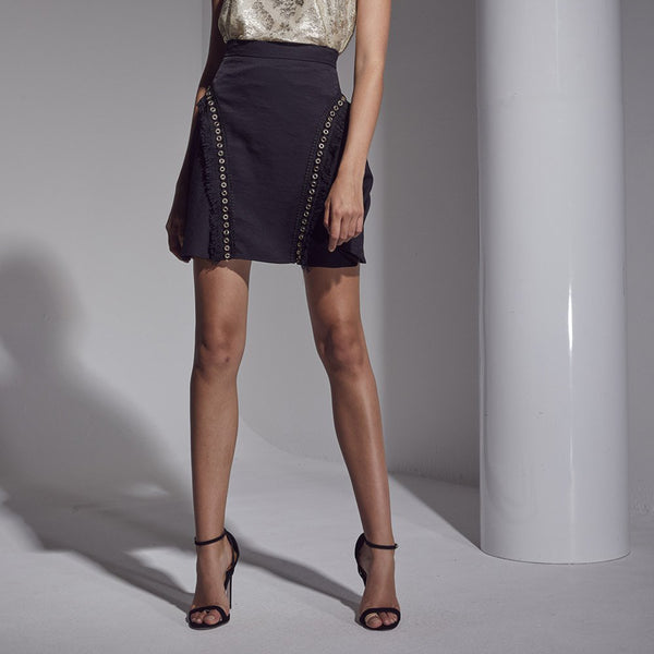 Allure Fringe / Metal Skirt