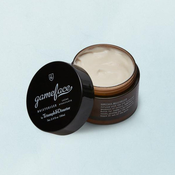 Gameface Moisturiser - 100ml Jar