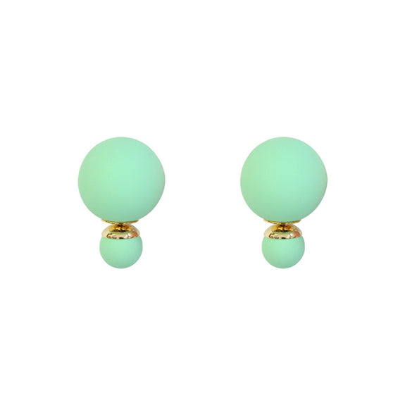 Mint Bubble Studs