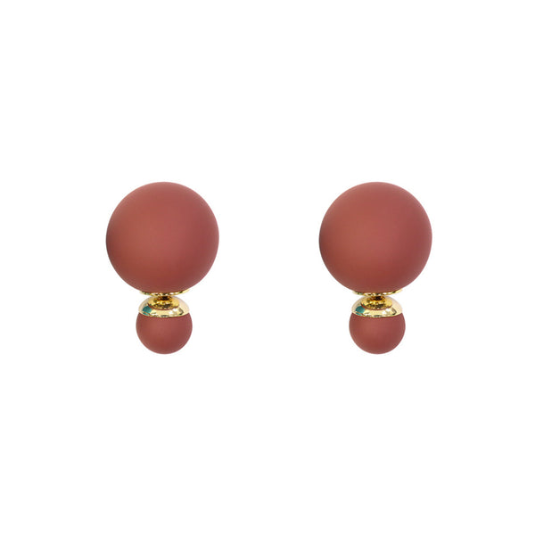 Red Bubble Studs