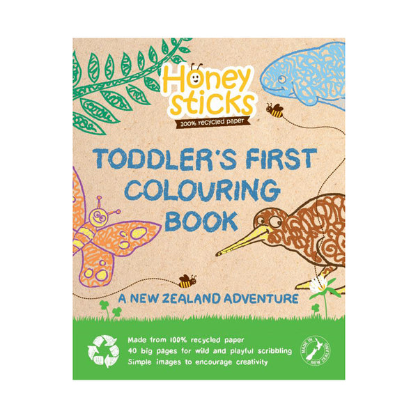 Toodler's First colouring in book