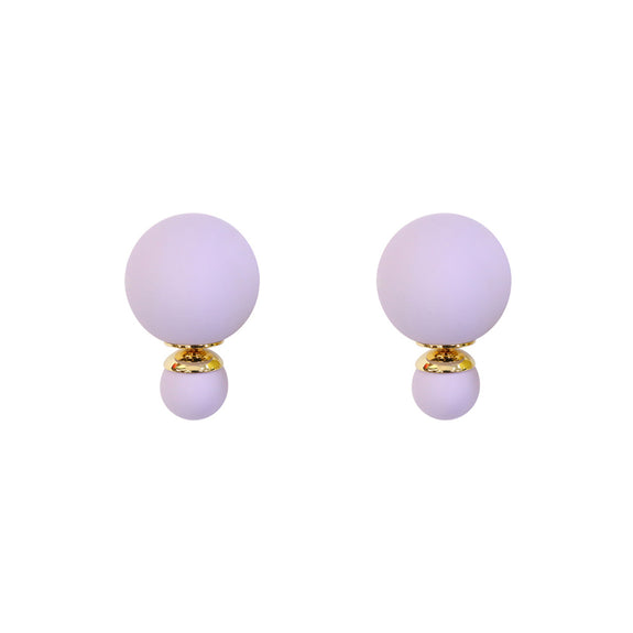 Purple Bubble Studs