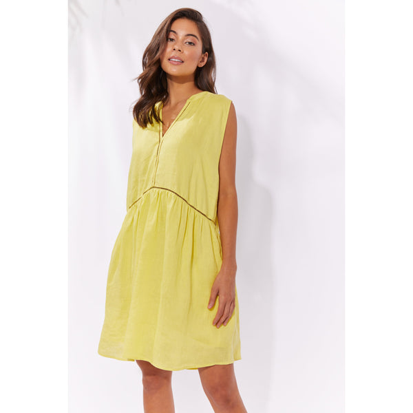 Palma Dress - Lemon