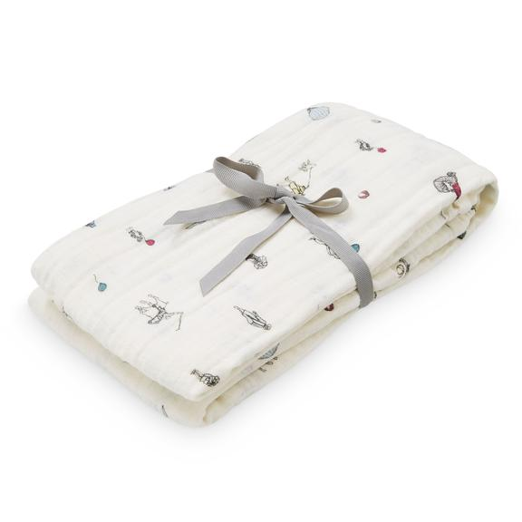 Printed Muslin Swaddle - Holiday