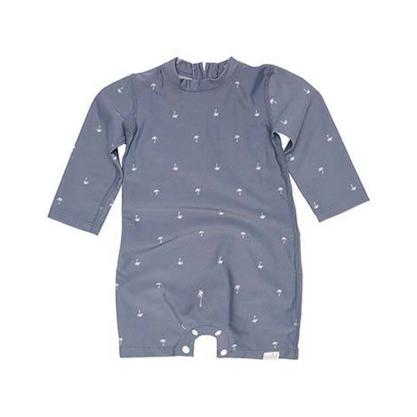 L/S Swim Onesie - Seaside