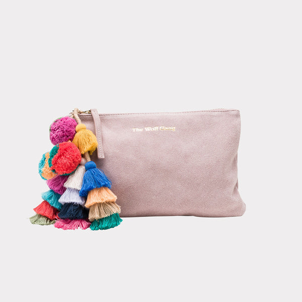Bedouin Clutch - Blush