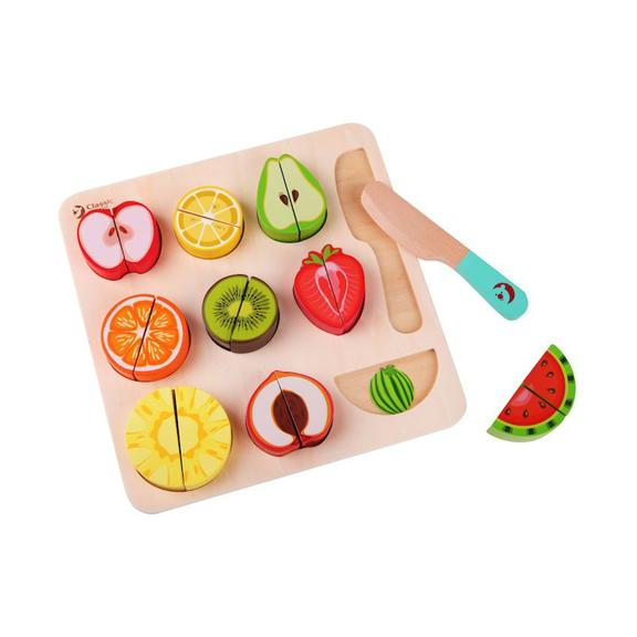 Wooden Cutting Fruit Puzzle